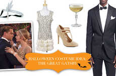 Glamorous Gatsby Halloween Costumes - Go as Daisy or Jay Gatsby for Your 2013 Halloween Costume