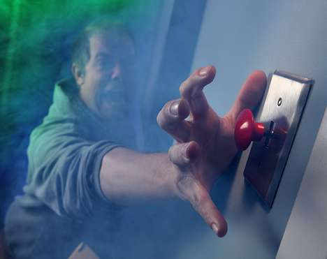 Panic Button Light Switches - Change All the Light Switches in Your House to Hilarious Panic Buttons