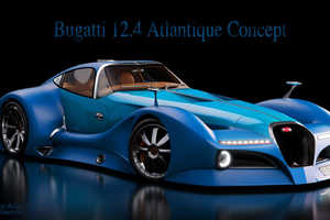 The Bugatti Atlantique Concept Car is Inspired by the Type 57SC