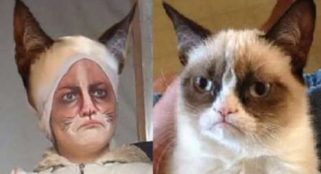 grumpy cat makeup