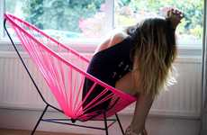 Woven Hammock-Like Seating