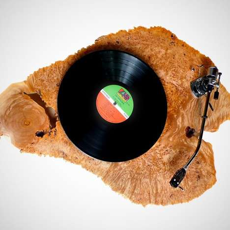 Natural Eco Turntables - High End Audio Meets Nature With the Hyperion Turntable by AudioWood