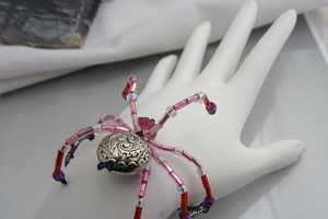 The Halloween Spider Bracelet Will Make a Bold and Creepy Statement