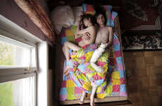 Sleeping Pregnancy Photography - Jana Romanova Captures Expecting Couples Asleep in 'Waiting'