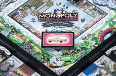 NYC-Customized Board Games - The NYC Customized Monopoly is Completely Redesigned