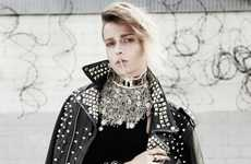 Bling-Loving Punk Editorials