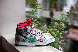 These 'Ugly Christmas Sweater' Themed Nike SB Dunks are Quirky