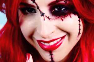 This Chucky-Inspired Tutorial is Gory and Sultry