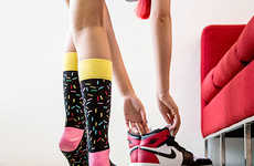 Funky Flamboyant Socks