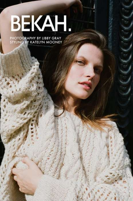 Casual Knitwear Editorials - The Fashion Gone Rogue