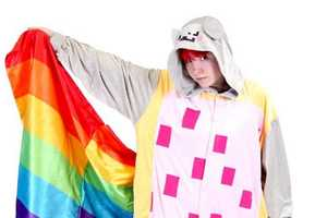 The Nyan Cat Onesie Lets You Sleep in a Rainbow