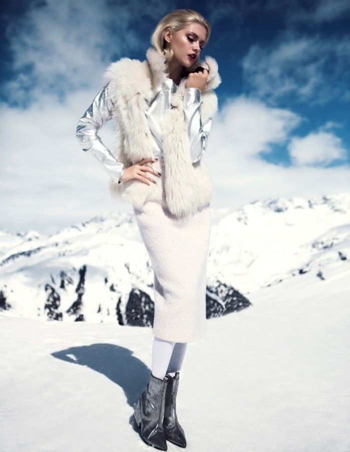 Sophisticated Snow Bunny Fashion