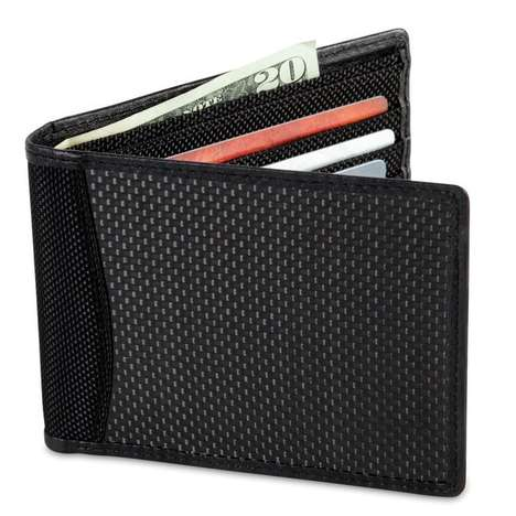 Anti-Identity Theft Wallets - The Anti-Identity Theft Wallet Blocks Radio Signals From Intrusion