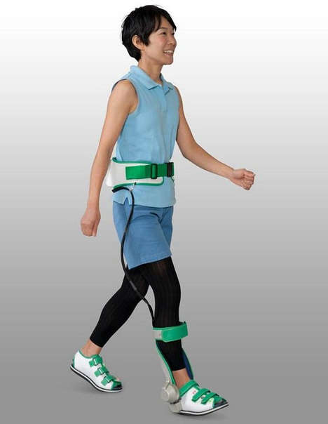 ankle walking assist device