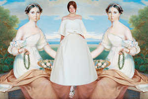 Miss Moss Identifies Paintings That Inspired Delpozo Fashions
