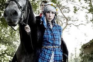 Mario Testino Captures Edie Campbell in Romantic Pastoral Surroundings