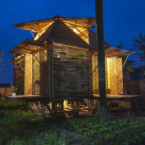 Blooming Bamboo House