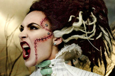 Stunningly Spooky Halloween Makeup - Rick Baker Joins MAC to Bring You These Haunted Looks