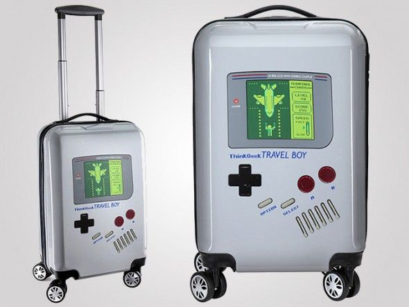 Gaming-Inspired Luggage