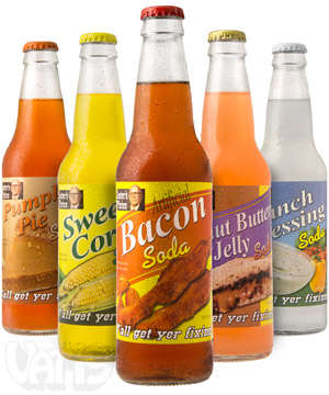 Food-Flavored Sodas - Lester