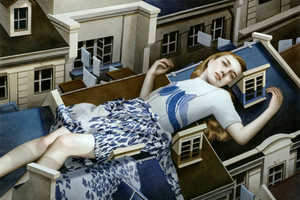 In These Tran Nguyen Art Paintings She Paints Giant Women in the City