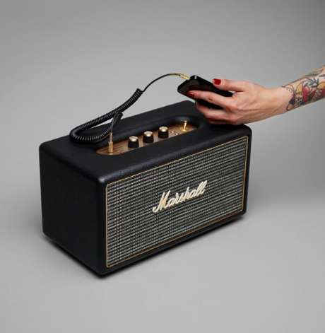 Amplifier-Inspired Speakers - This Marshall Stanmore Speaker Will Make You a Rockstar