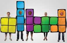 Classic Game Costumes - These Tetris Costumes are the Perfect Group Get-Up this Halloween