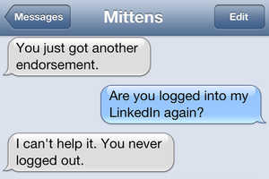 Texts From Mittens Shows the Conversations Between a Cat and her Owner