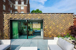 Squire and Partners Have Created an Eye-Catching Vine Facade