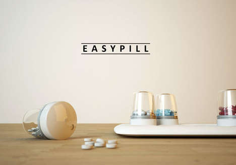 Cloud-Connected Pill Containers - The Easypill Lets Doctors Monitor Medication Regimens from Afar
