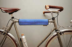 Patterned Bicycle Protectors - These Bike Attachments from Pijama Let Families Ride in Style