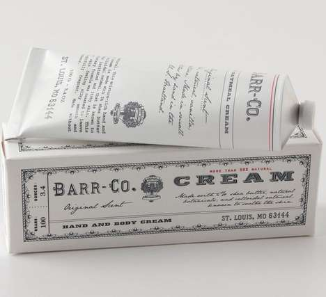 Organic Hand Moisturizers - Barr & Co. Created an Organic Hand Cream from Aloe