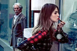 Julia Frauche Rocks Plaid & Spots for Vogue Brasil's Fall Issue