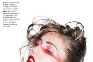 Nadja Bender Stuns in this Rocker Chic Spread for Flair Magazine