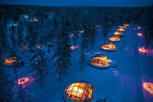 Hotel Kakslauttanen Offers 20 Thermal Igloos in Finland's National Park
