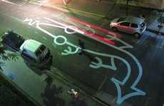 Whimsical Road Animal Art