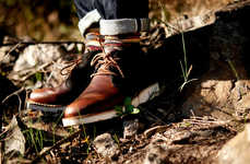 Rugged Classy Footwear - The C Store Diemme Collaboration is Limited to 26 Pairs