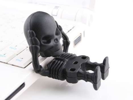 Skeleton USB Drives