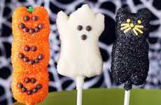 Simplistic Halloween Pop Recipes - This Push Pop Halloween Recipe is Simple and Delicious