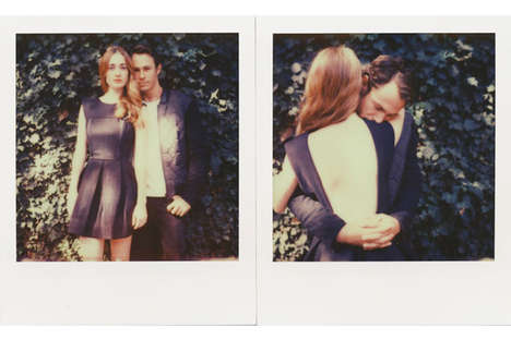 Cheeky Polaroid Catalogs - The American Two Shot Fall Lookbook is Titled