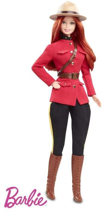 Great White North-Inspired Barbies - The Royal Canadian Mounted Police Barbie Sends a Strong Message
