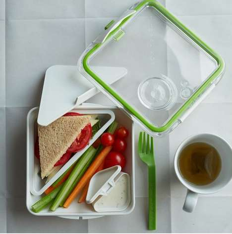 Compartmentalized Containers - Black + Blum's Bento Box Container Fits Food Essentials