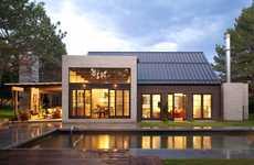 Rustic Exterior Metropolitan Homes