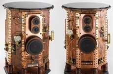Luxurious Copper Speakers