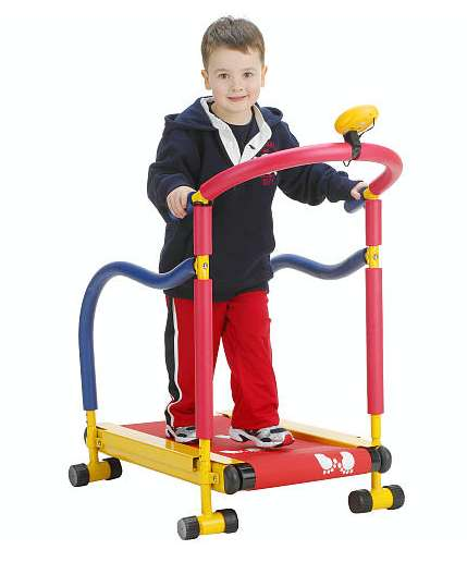 Kiddie Workout Equipment - This Treadmill for Kids Adds Fun to Their Fitness