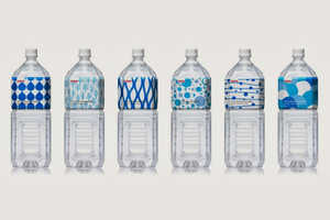 Kirin Natural Mineral Water Packaging Refreshes for an Assorted Identity