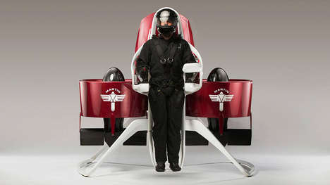 Genuine Personal Jetpacks - The Martin Aircraft P12 Jetpack May Be Available Just One Year From Now