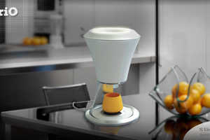 The PriO Sustainable Juicer Turns its Organic Waste into Custom Cups