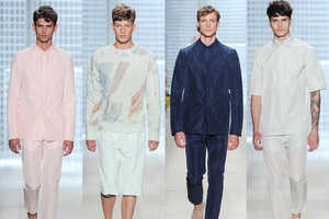 The Lacoste's Spring/Summer 2014 Menswear Collection is Sl