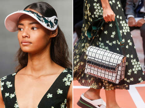 Glamorously Athletic Fashion Collections - The Marni Spring 2014 Collection is Encrusted with Jewels